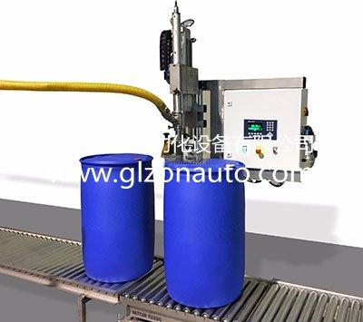 <b>200升化工液体灌装机,大桶灌装</b>