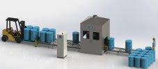 200升双工位自动灌装生产线