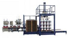 25升圆桶自动灌装生产线