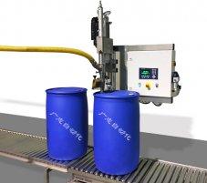 自动200L大桶灌装称重灌装机