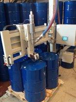 吨桶灌装机摇臂式四桶位灌装