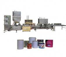 1升油漆灌装机-1升固化剂灌装
